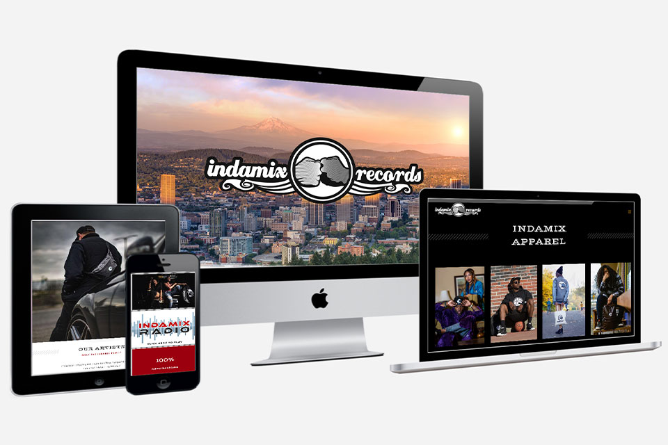 Indamix Records Partners with Nic Sanford Belgard of Belgard Media Werks for Launch of New Website